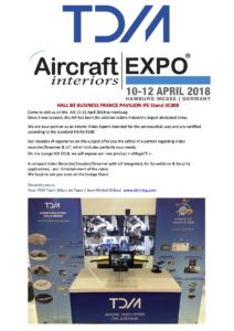 airccraft interiors exhibiion 2018-tdm-embedded systems